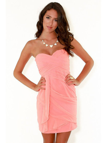 Sheath/Column Sweetheart Chiffon Short/Mini Sleeveless Draped Homecoming Dresses at sweetquinceaneradress.com