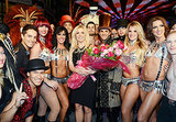 Britney Spears celebrated her Vegas residency among dancers.