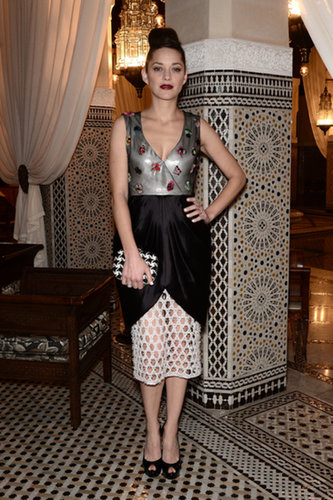 Marion Cotillard at the Marrakech International Film Festival
