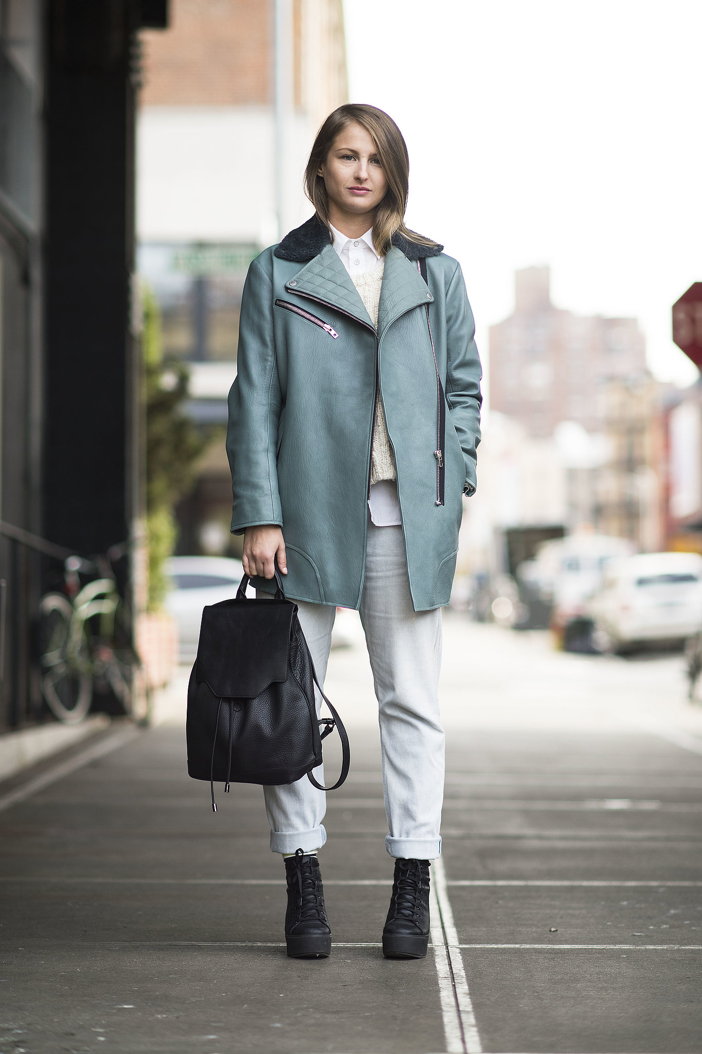 Winter Doesn 39 T Have To Mean Gray Days This Street Style Pro Added All The Street Chic