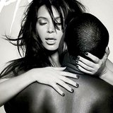 Kim Kardashian and Kanye West Kissing 2013 | Video