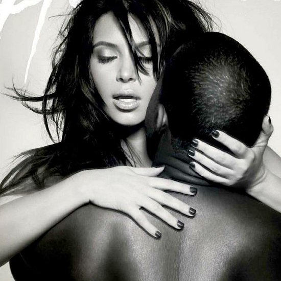 Kim Kardashian and Kanye West PDA Moments in 2013