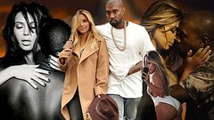 Kim and Kanye's Most Over-the-Top PDA Moments of 2013!