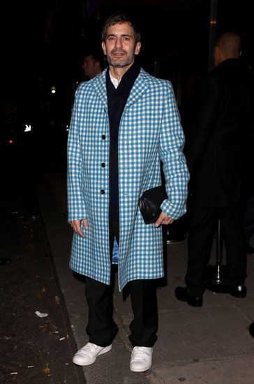 Marc Jacobs at Playboy's 60th anniversary issue party.
