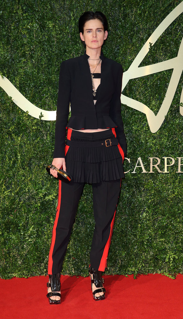 Stella Tennant at the British Fashion Awards.