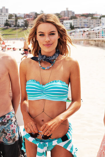 Seafolly Gets Sandy At Bondi Beach