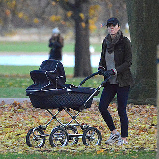 Kate Middleton Pushing Prince George in Stroller