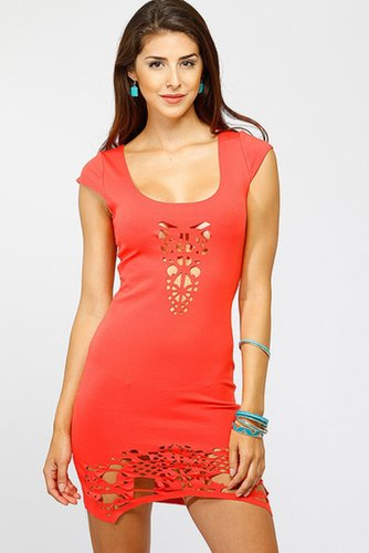 Cut Out Body Con Dress @ Cicihot sexy dresses,sexy dress,prom dress,summer dress,spring dress,prom gowns,teens dresses,sexy part