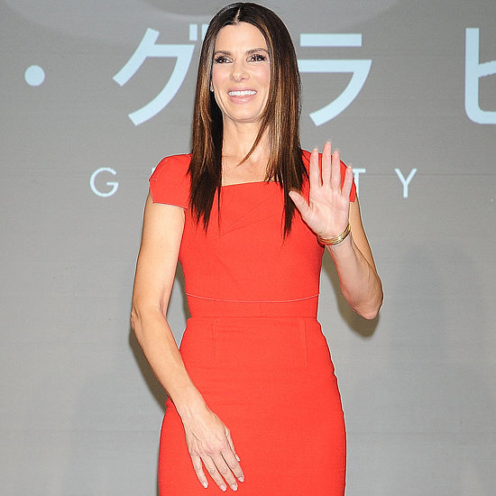 Sandra's Latest Look Heats Up the Gravity Tour in Tokyo