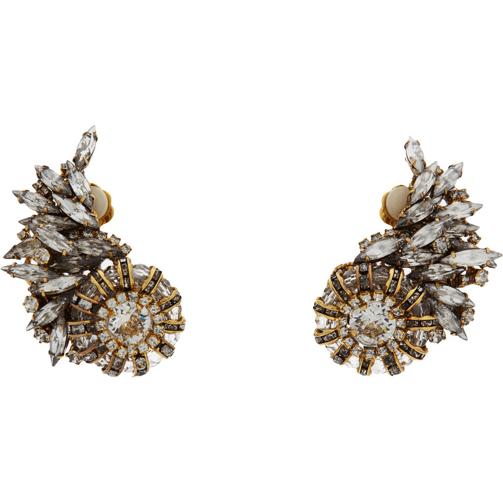 Erickson Beamon Crystal Small Velocity Ear Cuffs ($299, originally $530)