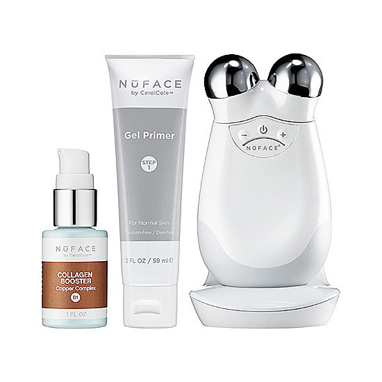 Improving facial tone doesn't mean a trip to the plastic surgeon anymore. NuFace Trinity Collagen Booster Bundle ($349) contains the NuFace Trinity Skin Care Device, which is clinically proven to improve skin tone, making this the year of gorgeous skin.