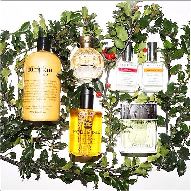 Because who doesn't want to smell like the holidays? Source: Instagram user intothegloss