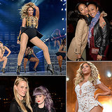 Beyoncé's LA Concert Was Basically a Celebrity Convention