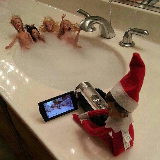 Elf On The Shelf Doing Bad Things