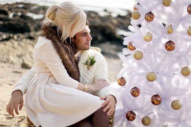 Take the Shoot (and a Christmas Tree) to the Beach