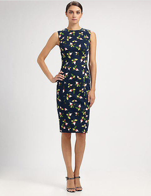 Carolina Herrera Radish Dress