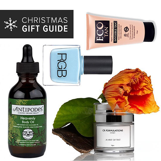 2013 Christmas Gift Guides: Natural Beauty Products