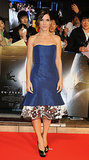 Sandra Bullock in Carolina Herrera at the Tokyo Premiere of Gravity
