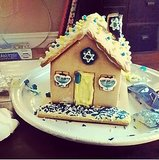 The best holiday mashup we've ever seen: a Hanukkah house! Source: Instagram userrachelstrugatz