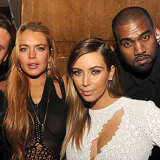 Kim Kardashian and Kanye West at Art Basel in Miami