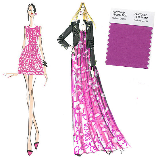 The Colour Purple: Designers Envision Pantone's Picks For 2014