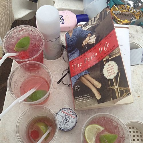 Flygirl777s shared her vacation reading.