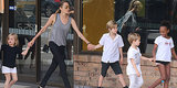 Angelina Jolie Shops in Sydney With the Kids