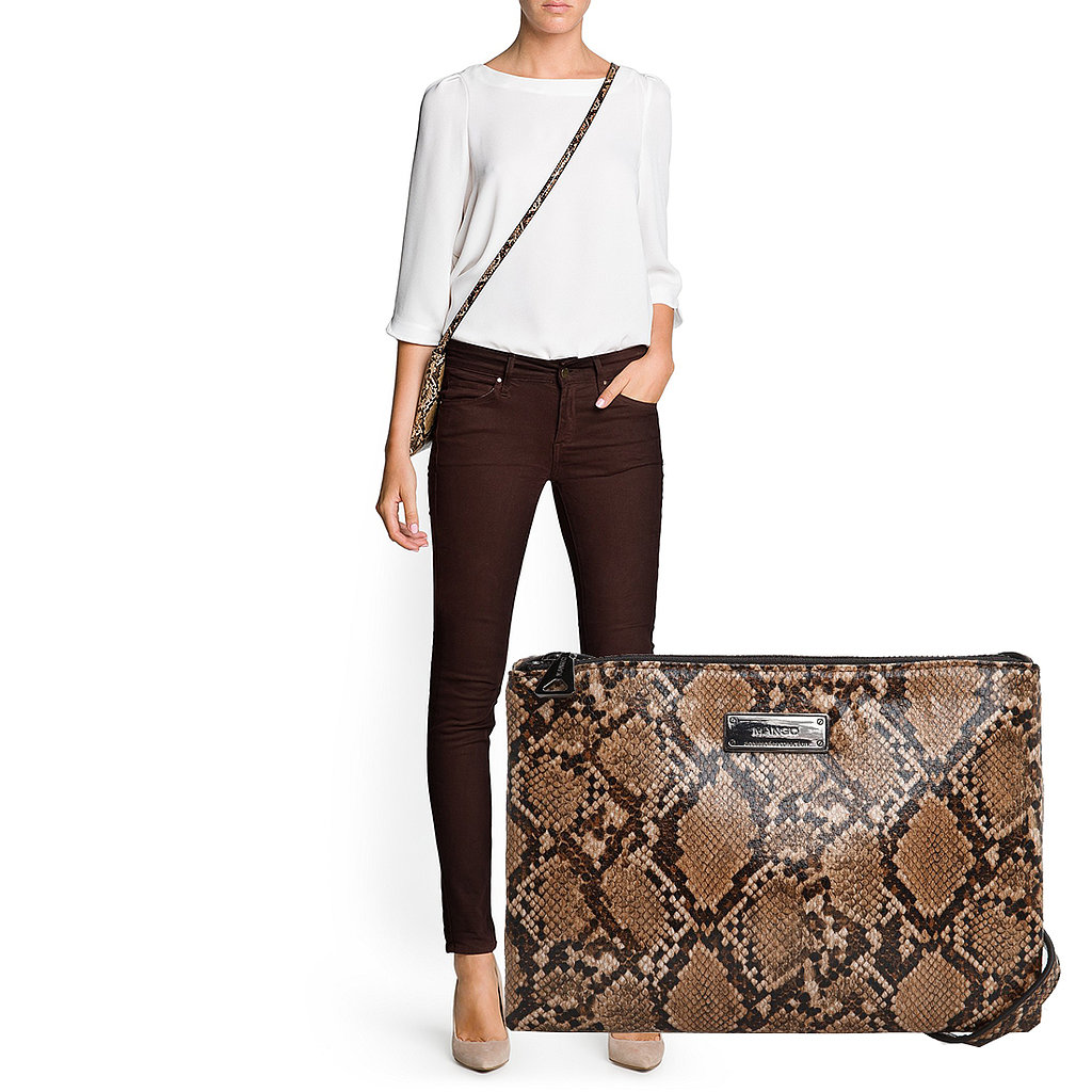 If you need to cross a purse lover off your list, we'd recommend going for this Mango snakeskin crossbody ($30).
