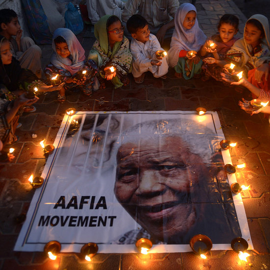 The World Celebrate's Nelson Mandela's Uplifting Life