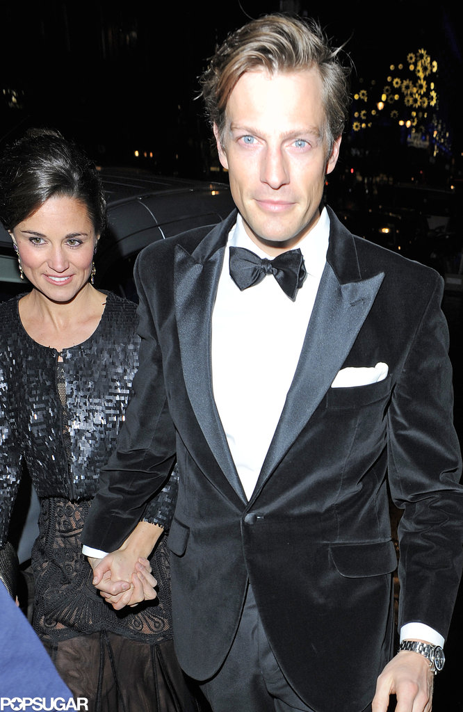Pippa Gets Serious With Her Blue-Eyed Beau