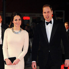 Kate Middleton and Prince William at Mandela London Premiere