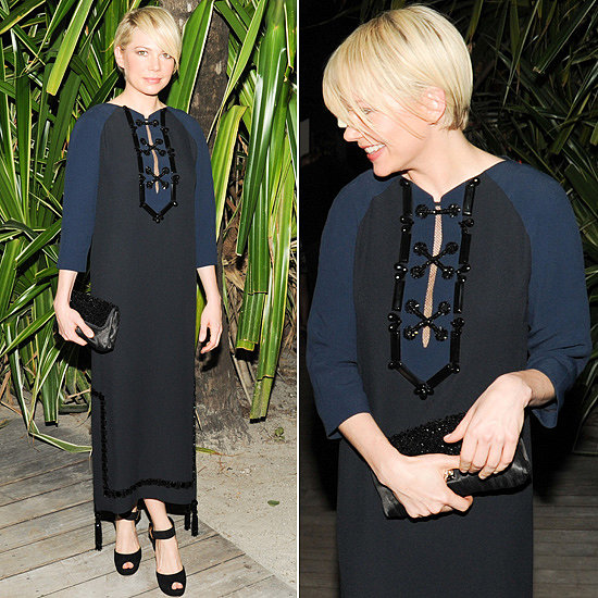 One of our most popular red carpet looks among readers this week was worn by Michelle Williams, who proved why she is the face of Louis Vuitton.