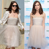 Our Facebook friends loved it when Keira Knightley proved she's the coolest bride of all time when she rewore her wedding dress — for the second time!