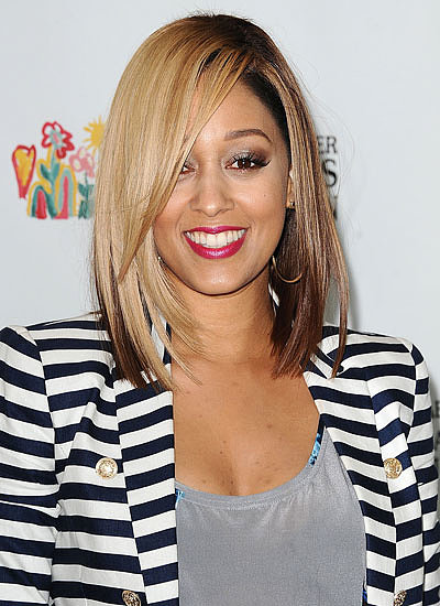 Tia Mowry: Brunette to Blonde