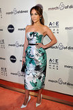 Jennifer Lopez was honored at the March of Dimes luncheon.