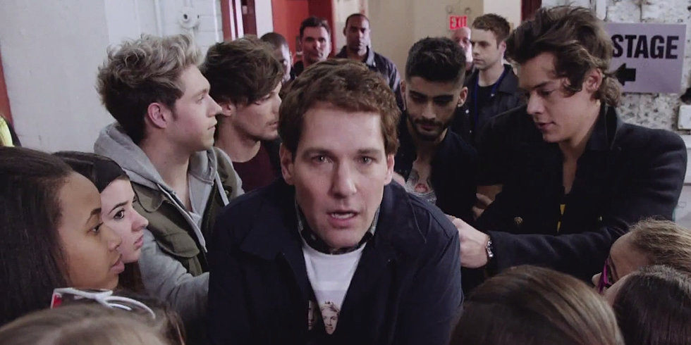 Paul Rudd Is One Direction's Most Hilarious Man-Fan