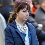 Dakota Johnson Filming Fifty Shades of Grey Solo