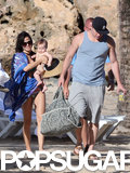 Channing Tatum and Jenna Dewan brought their baby girl, Everly, on a beach vacation.