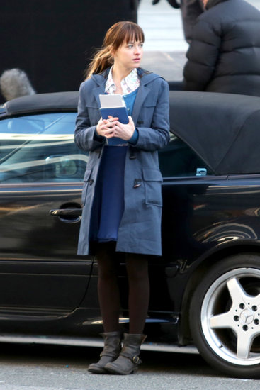 Anastasia Steele Prepares to Meet Christian Grey