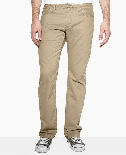 Levi's 514 Slim-Fit Straight-Leg Pants, British Khaki