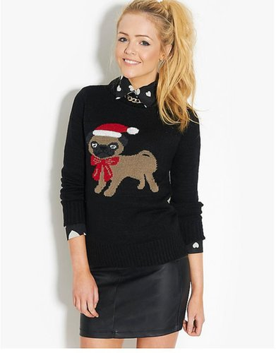 BLONDE & BLONDE Christmas Pug Jumper