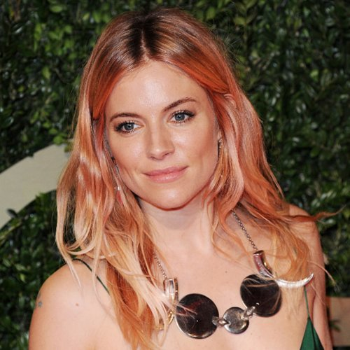 Sienna Miller's Rose Gold Hair | Get the Look at Home