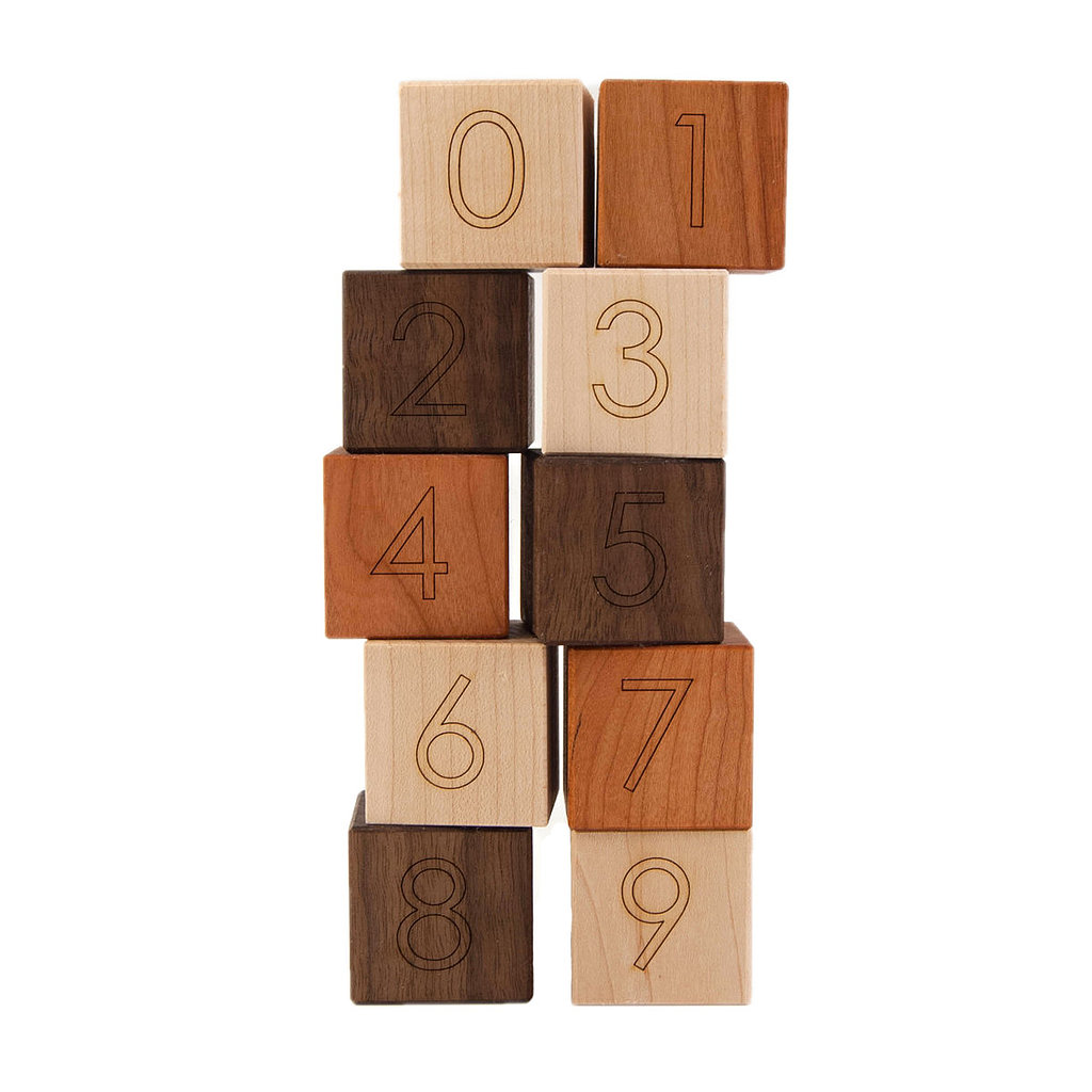 Little Sapling Toys Number Blocks ($19)