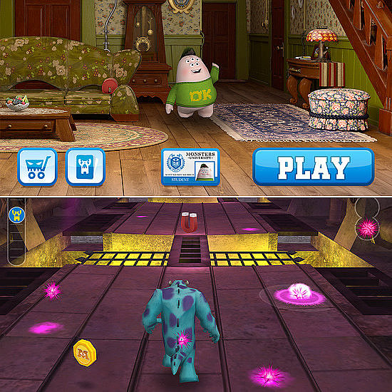 Monsters University Minigames