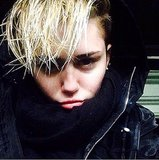 Need proof that Winter's coming? Just ask Miley Cyrus. Source: Instagram user mileycyrus