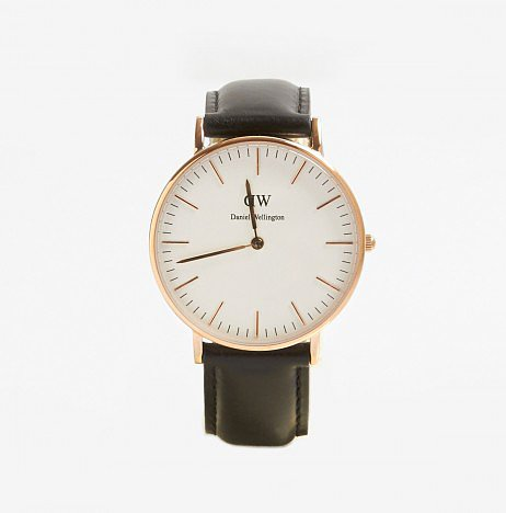 "Daniel Wellington Classic Sheffield Lady Watch ($200) ""Clean, modern, and rose gold — timeless."""