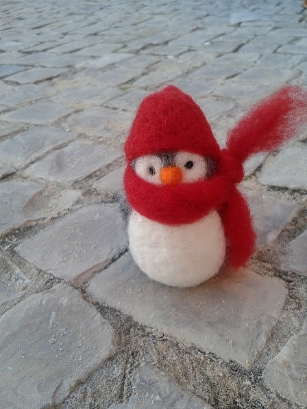 Miritilio Needle Felted Penguin ($21)
