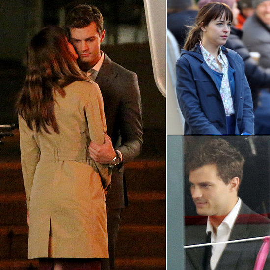 On the Set With Fifty Shades of Grey