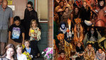 Angelina and Brad Take Sydney and American Hustle Costumes
