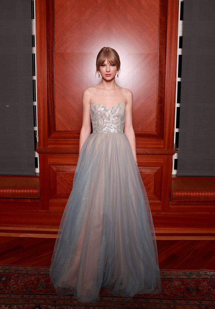 Princess Taylor was an absolute vision accepting the Harmony Award at the Nashville Symphony Ball in December 2011.